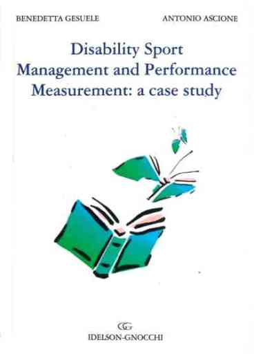 1.Disability Sport Management and Performance Measurement