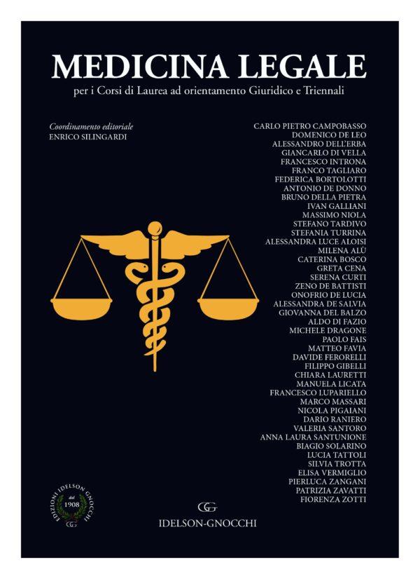Copertina medicina legale giurisprudenza