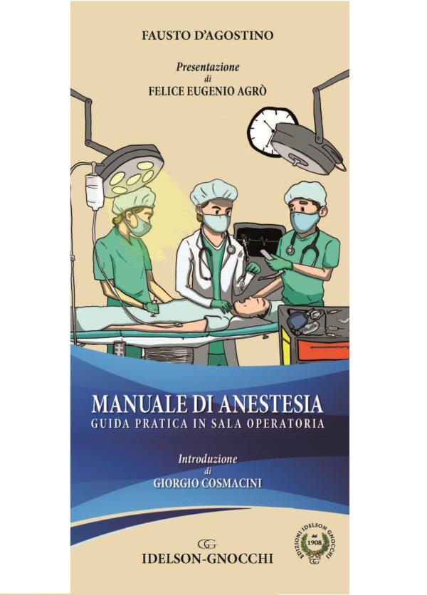 D'Agostino copertina manuale di anestesia WEB